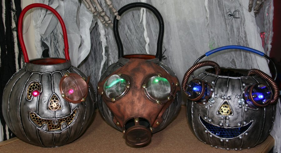 Trick or treat steampunk