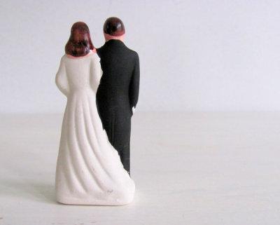 Vintage Wedding Cake Topper by NifticVintage