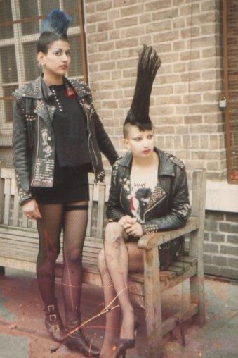 ryanpunx:  London Punks 1977-1982 Charlie & Chyncia on the Kings Road