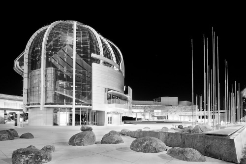 sevendazeaweek:  San Jose City Hall Rotunda at Night