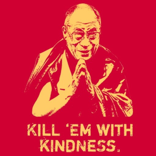 thecottonabyss:  Kill 'Em With Kindness at Headline Shirts