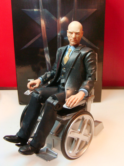 Patrick Stewart as Prof X by hugohugo