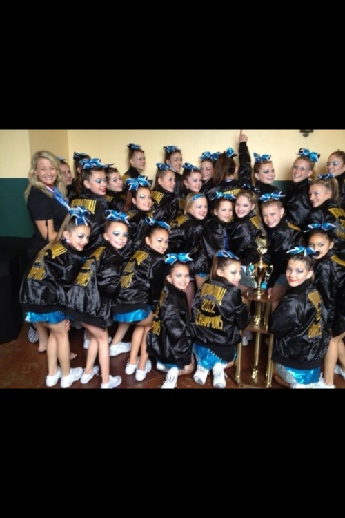 My cheer team at Nationals!!