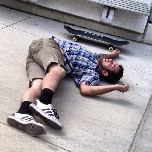 @derrrick #pk #slam #detroit #michigan #skateboarding  (Taken with instagram)