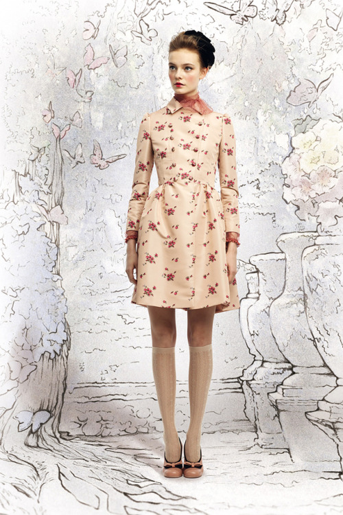 Nimue Smit for Red Valentino F/W 2012/2013 Lookbook