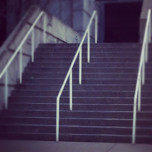 Day 18: Stairs #skatephotoaday  (Taken with Instagram at Cincinnati, OH)