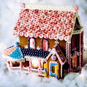 (via Gingerbread Houses for All - The Tiny Prints Blog)