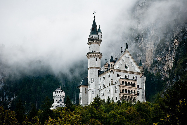 Schloss Neuschwanstein by F.Hauschildt on Flickr.