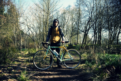fadzleekhamis:  self bike portrait. old aberdeen.