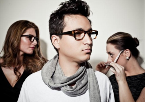 More outtakes from the Francois eyeglass editorial shoot. This is Phillipe. He's going to be a doctor, or a scientist. No he's going to be a doctorate of science or something like that. Right now he's doing the thang thang on this shoot innit!