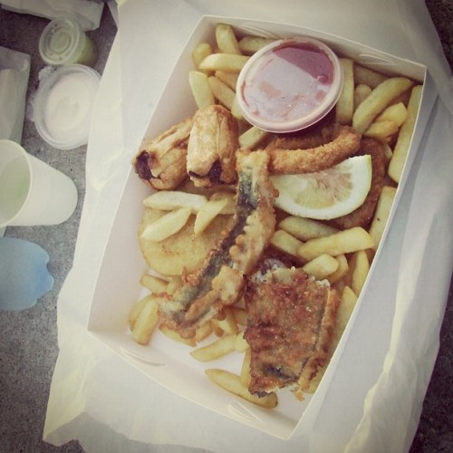 Fish 'n chips #melbourne #australia #food