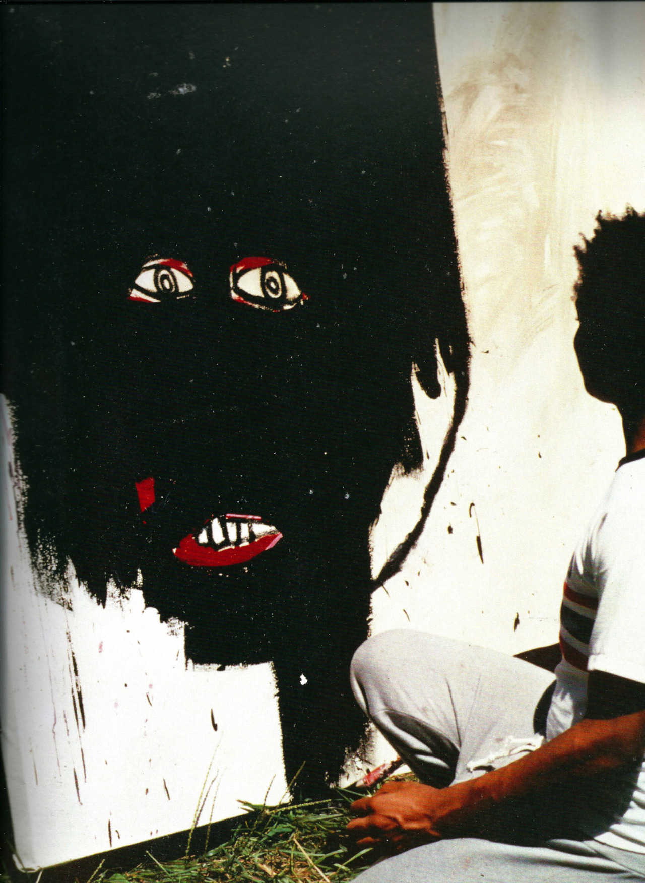 horreure:  Jean Michel Basquiat by Dieter Buchhart