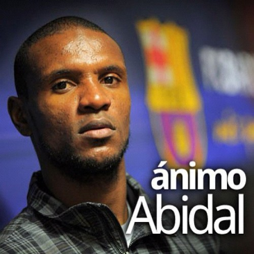 #abi #abidal #insta #fotboll #football (Taken with instagram)