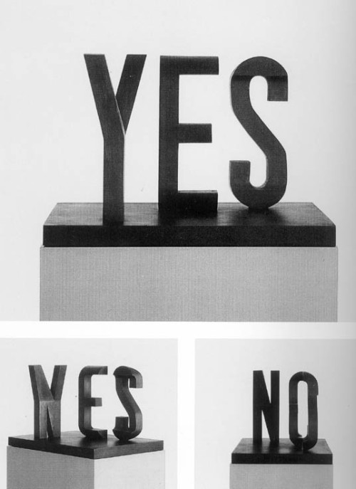myedol:  Yes/No by Marcus Raetz