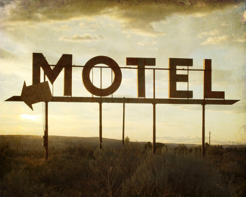 Motel by retroimage on Flickr.
