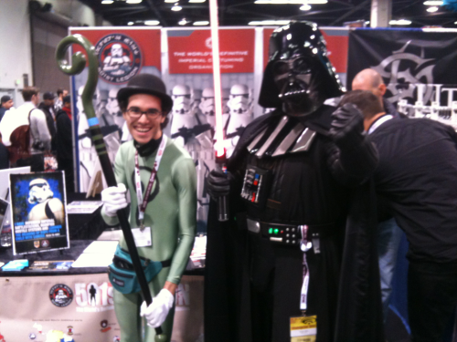 Me and Darth Vader!!