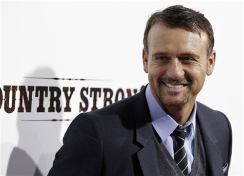 Tim McGraw at Country Strong premiere
