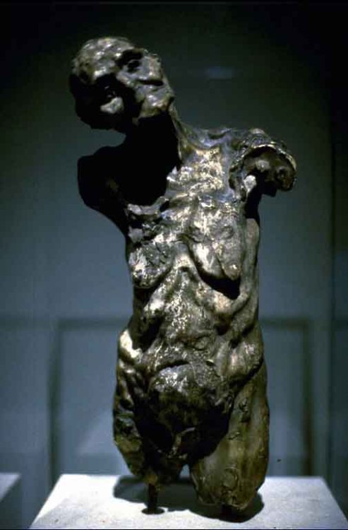 cavetocanvas:  Camille Claudel, Torso of Clotho, 1893