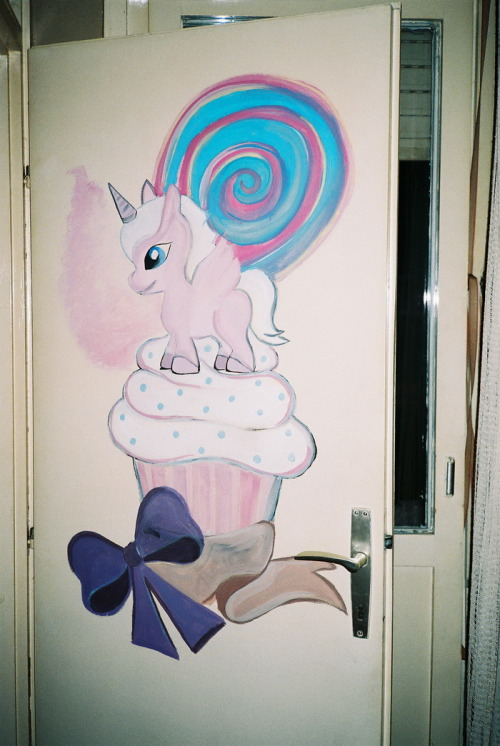 jovana's bedroom door