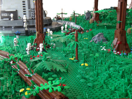hereigocustomlego:  Endor Complete by brickplumber on Flickr.
