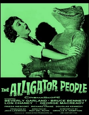 The Alligator People!