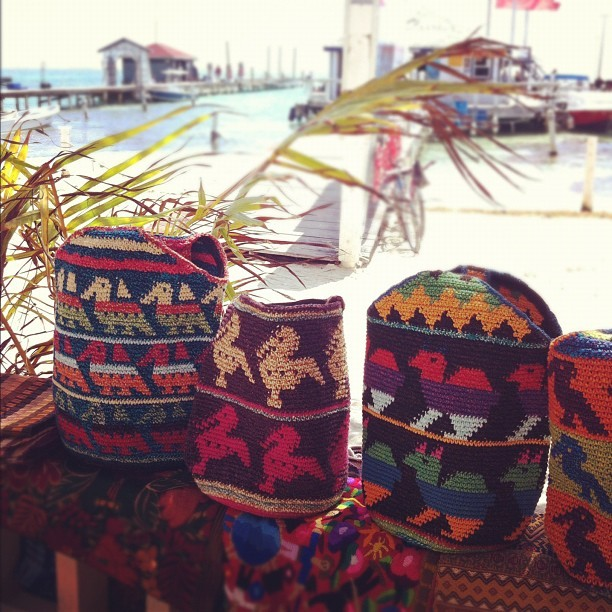 Ethnic textiles. (Taken with Instagram at San Pedro, BZ.)