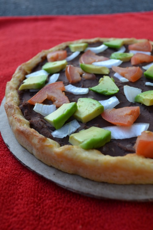 veganmomma:  Simple Taco Pizza