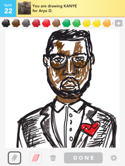 Retiring from Drawsomething with Yeezy.