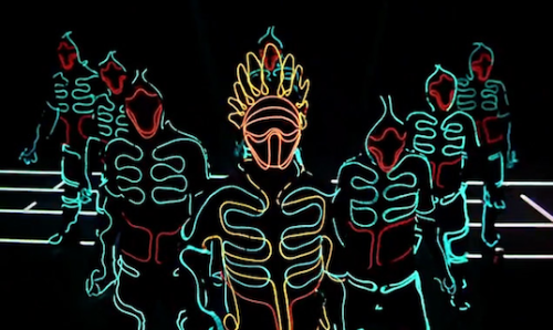 TRON LED DANCE - Wrecking Orchestra DANCE CREW