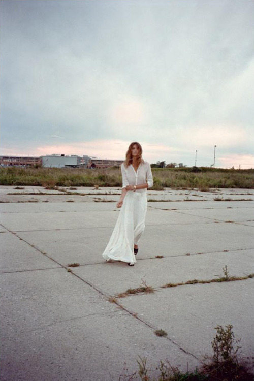 oystermag:  Daria Werbowy shot by Cass Bird for Maiyet SS12