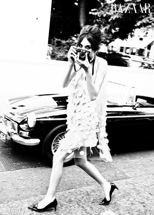 Girl Crush: Alexa Chung           This kooky Brit has an eclectic sense of style that has won me over. From her impeccable ombre-ed locks, to her husky toned voice, Ms Chung is a true style maven. Unfortunately, her hilarious, star-packed, perfectly styled, MTV show It's On with Alexa Chung was cancelled. However, footage of this wonderful gem of TV magic still lives! Guests like Lady Gaga, Ian Somerhalder (Damon from The Vampire Diaries!!!), Rihanna and yes even the Cast of Glee, have appeared on her show. So, here's hoping for happier and more Chung-filled times!