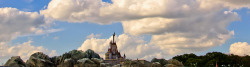 Fantasyland Construction | A Castle in the Clouds by Scott Sanders [ssanders79] on Flickr.