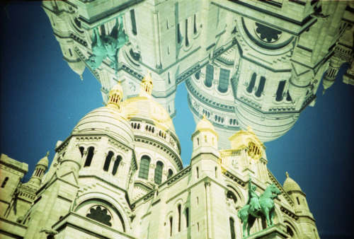 LC-A+, Kodak Elite Chrome 100. Sacré Coeur in Paris, France.