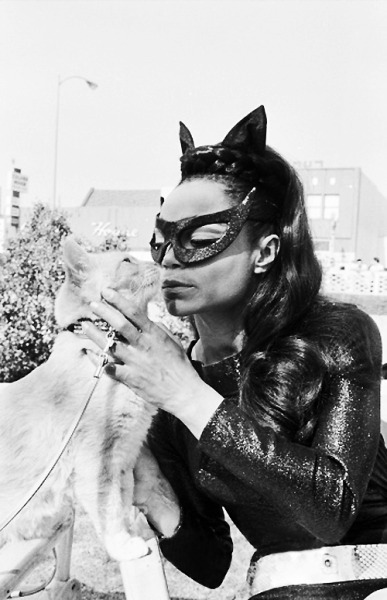 vintagegal:  Eartha Kitt as Catwoman c. 1960's