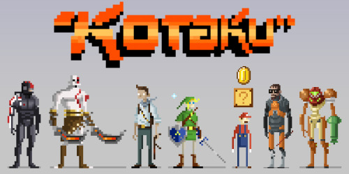 A banner I created for http://www.kotaku.com Drawsgood Illustration and Design website: http://www.drawsgood.com twitter: http://www.twitter.com/drawsgood Facebook: http://www.facebook.com/DrawsgoodIllustration Red Bubble: http://www.redbubble.com/people/drawsgood