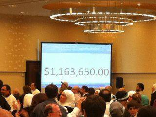 Amount of money raised in support of the #Syria'n Revolution at a rally in Washington DC. via leaveobashar:  Amount of money raised in support of the Syrian Revolution at a rally in Washington DC. Do you want to contribute? Please click here to donate to Avaaz.org to help get medical aid into Syria. Thanks @ArabSpringFF