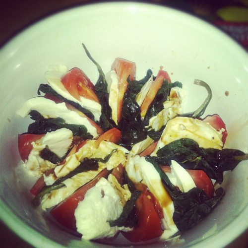 Capri Salad (Taken with instagram)