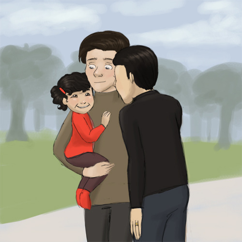 Klaine Week, Day 7: Daddies Park My Other Klaine Week Contributions