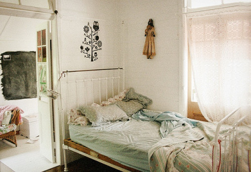 "my bedroom by Claudia Smith"" on Flickr.I want to lay down here and sleep through the afternoon"