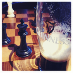 St. Patty's chess game