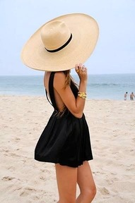 oy bathing suit is approaching …but I do love beach hats.