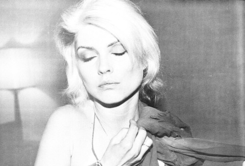 'Close You Eyes' Debbie Harry captured by Chris Stein.