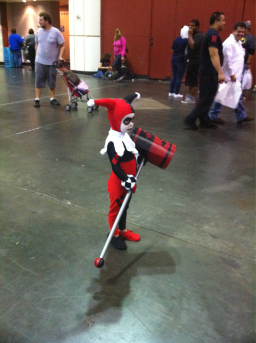 Great Costume of Harley Quinn.