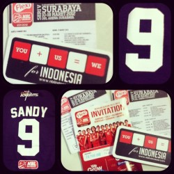 you +us = we #nblindonesia #clsknight #basketball #9 #luckynumber #tshirt #invitation #instagram #instadaily  (Taken with instagram)