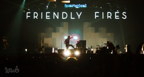 Friendly Fires at Fairgrounds, Jakarta
