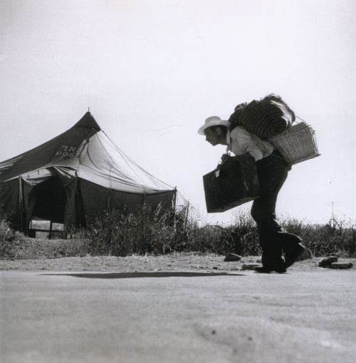 liquidnight:  Robert Capa Haifa, Israel, 1949 From Robert Capa: The Definitive Collection