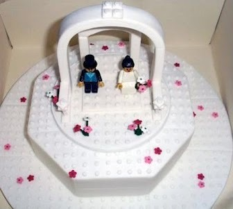 LEGO Wedding Cake!!