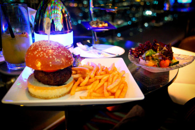 The $50 burger by modenadude on Flickr.