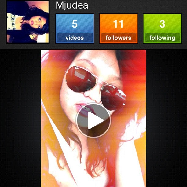 Follow me on Viddy my lovely bitches!