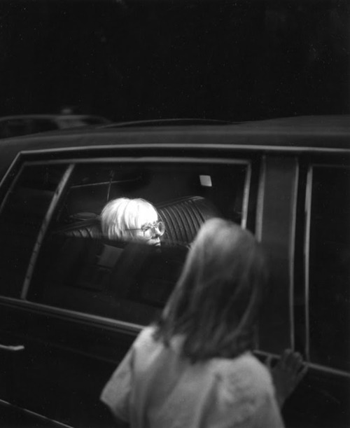 Mr. Warhol only allows the finest escorts in his limousine.    WOW! Warhol on wednesday